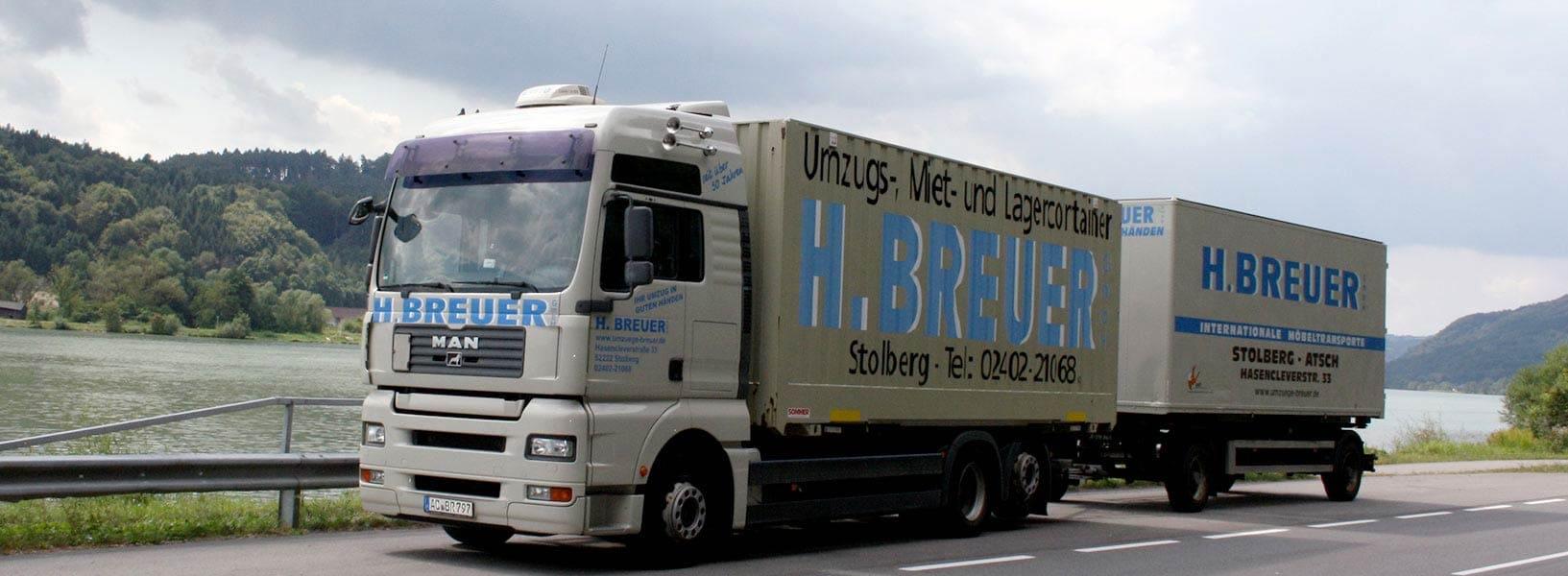 Spedition möbel kosten  Umzug mit der Helmut Breuer GmbH – Umzüge und Lagerungen Breuer GmbH